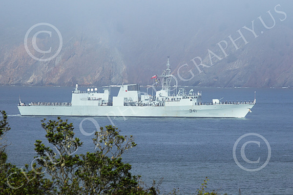Canadian Armed Forces Halifax-class Frigate HMCS Ottawa (FFH-341) Warship Pictures