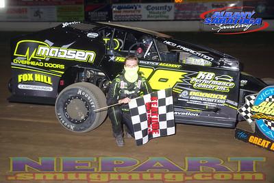 Albany-Saratoga Speedway - 8/7/20 - Mark Brown