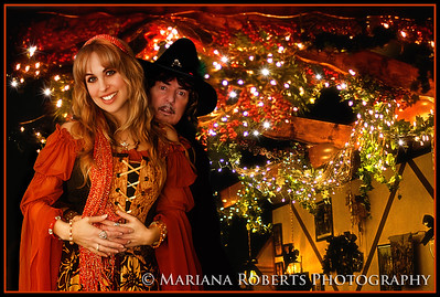 Christmas Portrait of Candice & Ritchie