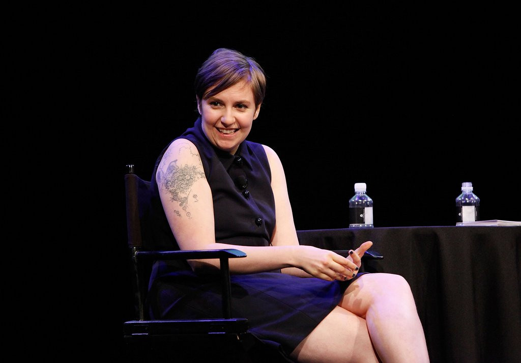 """. <p><b> �Girls� star Lena Dunham no doubt made her producers feel a little sick when she threatened to stop doing this � </b> <p> A. Acting <p> B. Television interviews <p> C. Wearing ANY clothing on the set <p><b><a href=\'http://www.latimes.com/entertainment/gossip/la-et-mg-lena-dunham-quitting-acting-glamour-sxsw-keynote-20140311,0,3152718.story#axzz2wFVHmXUi\' target=\""""_blank\"""">HUH?</a></b> <p>    (Amy Sussman/Getty Images for The New Yorker)"""