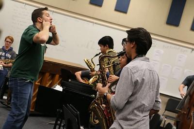 Ellington Rehearsal