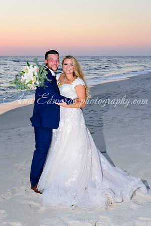 Mr. and Mrs. McFadin.  The Opulent Pearl  |  Panama City Beach