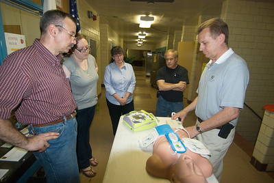 Community Life - AED Training - May 12, 2012