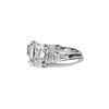 3.43ctw Emerald Cut Diamond 5-Stone Ring by Leon Mege, GIA F SI1 34