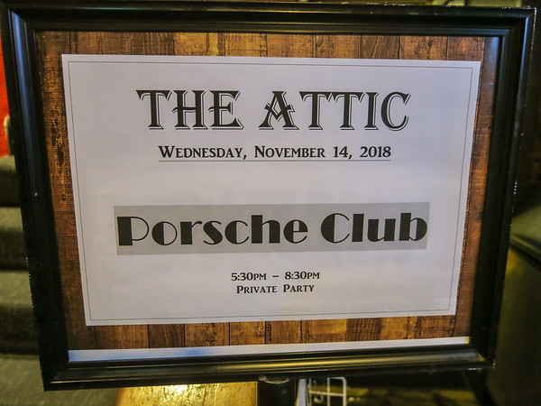 Social & Dinner, Nov 2018