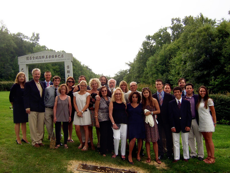 Somerstein, Walsey, Hyman and other family and friends - Elliot Walsey gravestone unveiling and luncheon
