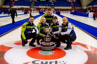 Feb 3 2020 Cornwall Curling Mens Champions
