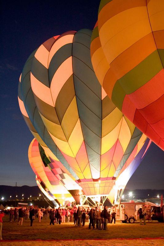 Dawn patrol, Albuquerque International Balloon Fiesta 2005