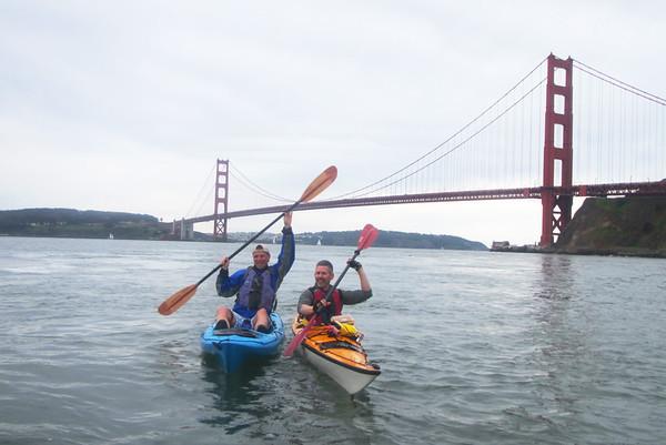 Sausalito Kayaking: Mar 18, 2017