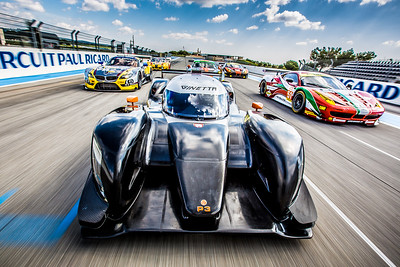 ELMS Tracking Shot - Paul Ricard, France Canon 5D MK3 / Canon 16-35mm f2.8 Lens 1/100 sec f9