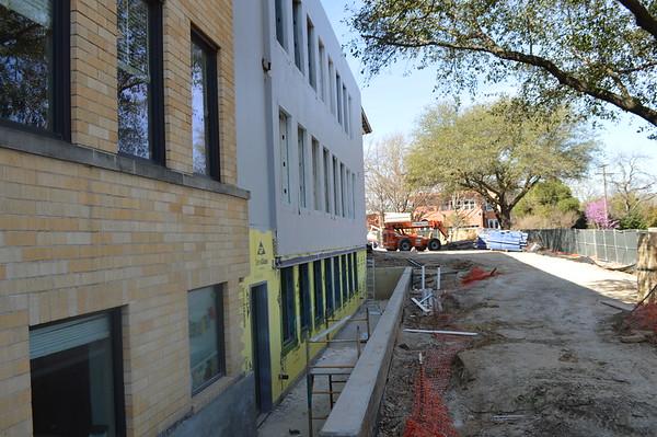 Campus Construction.March 2017