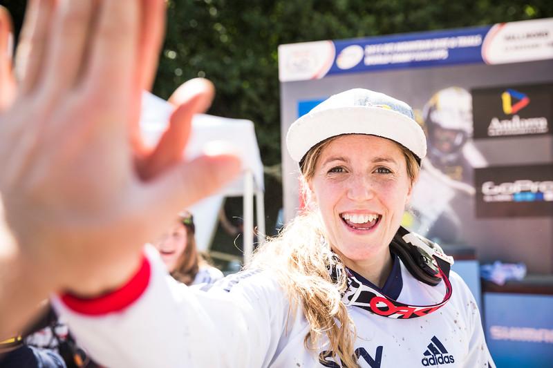 Rachel Atherton / World Champion Mountain Biker / Andorra, 2015
