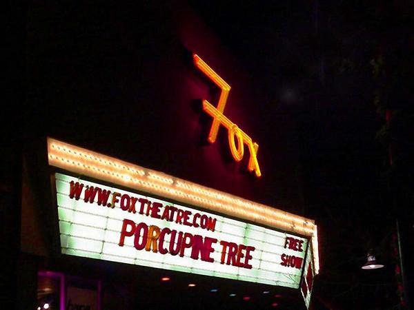 Porcupine Tree 11-20-02 Fox Theater