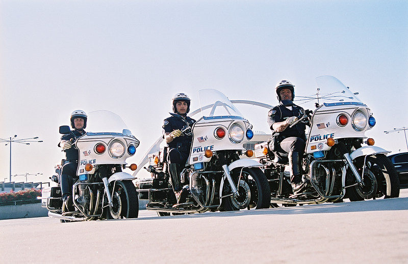 The Los Angeles Airport Police has fielded its first three motorcycle units to patrol the LAX Central Terminal Area (CTA) in a pilot program that began last October.