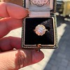 1.97ctw Antique Cluster Ring, GIA G SI2 22