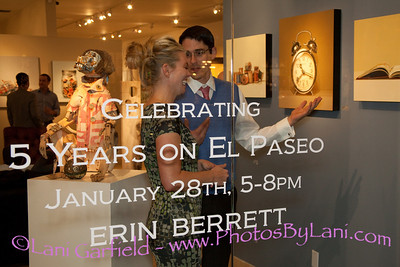 J Willott Gallery 5th Anniversary Celebration for PS Life 1/28/12
