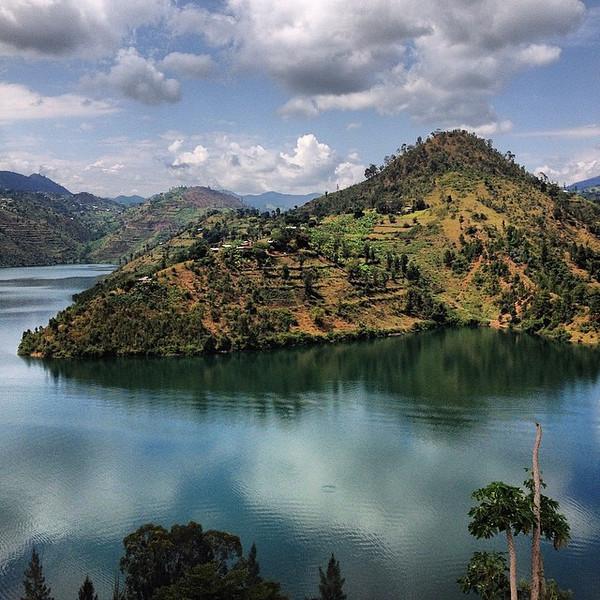 Mid-morning light, the deck outside our peaceful little perch ($12/night) above Lake Kivu -- near the Congo border in Kibuye, Rwanda. via Instagram http://ift.tt/1qMXH32