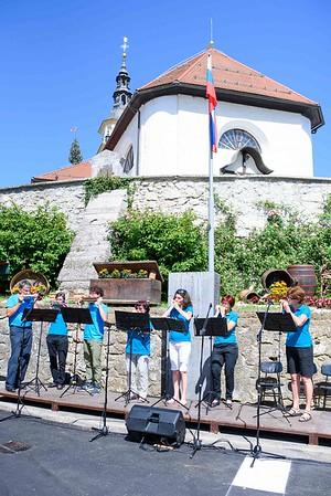 50. Tabor slovenskih pevskih zborov Šentvid pri Stični, junij 2019 (Foto: Gašper Stopar)