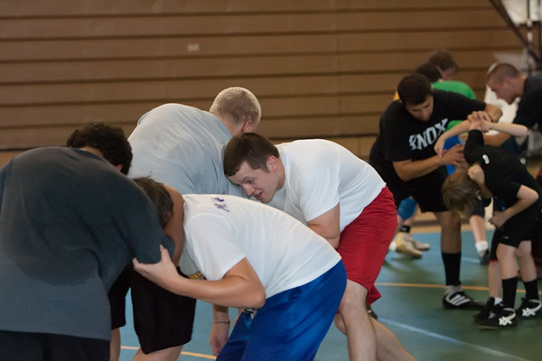 GHS Wrestling Camp July 23, 20111