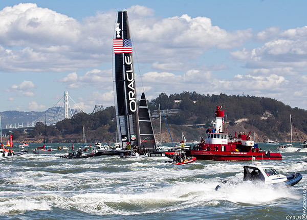 America's Cup Race - San Francisco