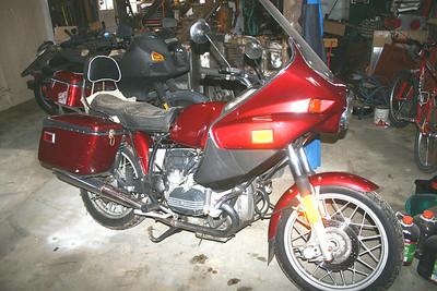 BMW R100T Rolling Restoration