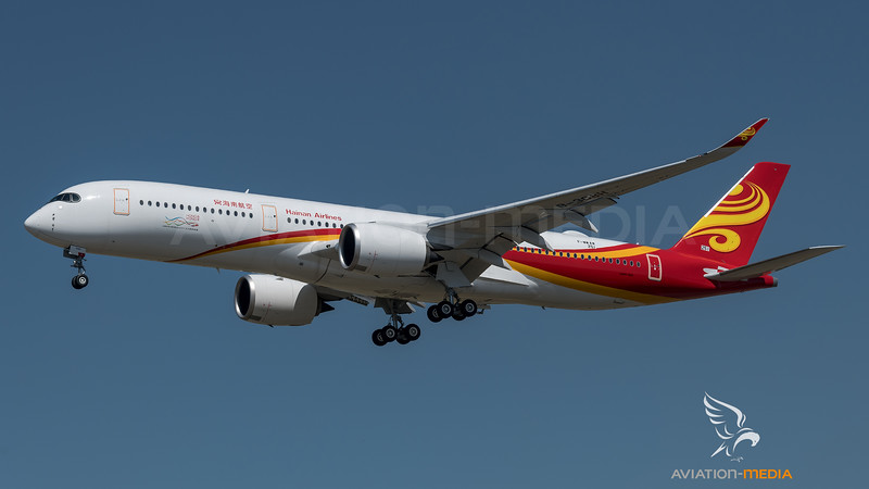 Hainan Airlines / Airbus A350-941 / F-WWAW (to be B-308H)