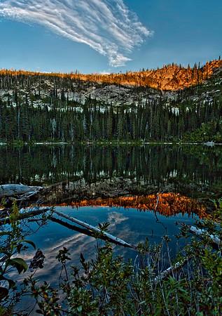 Snow Lake Idaho