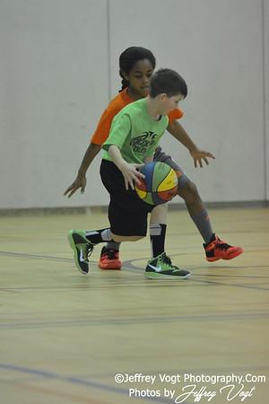 1-30-2016 Germantown Sports Association Rec Basketball 3rd Grade Hall Team, Photos by Jeffrey Vogt Photography