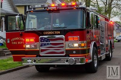 05-02-20 Coshocton FD - Kitchen Fire