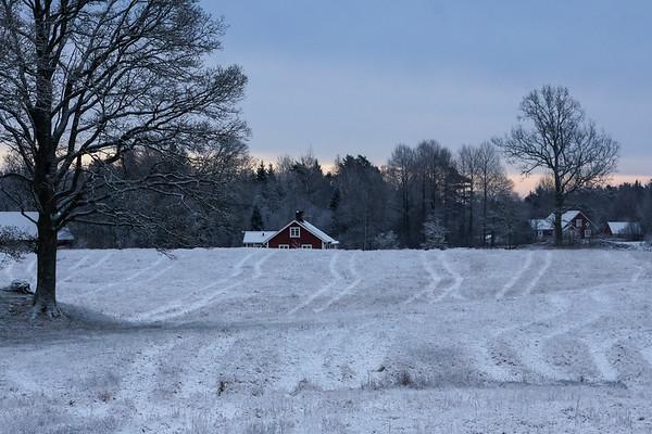 Färgensjöarnas landskap 28 december