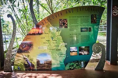 Skywalk im Wooroonoon National Park