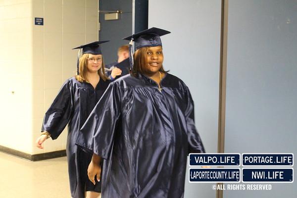 Michigan City High School Graduation 2015