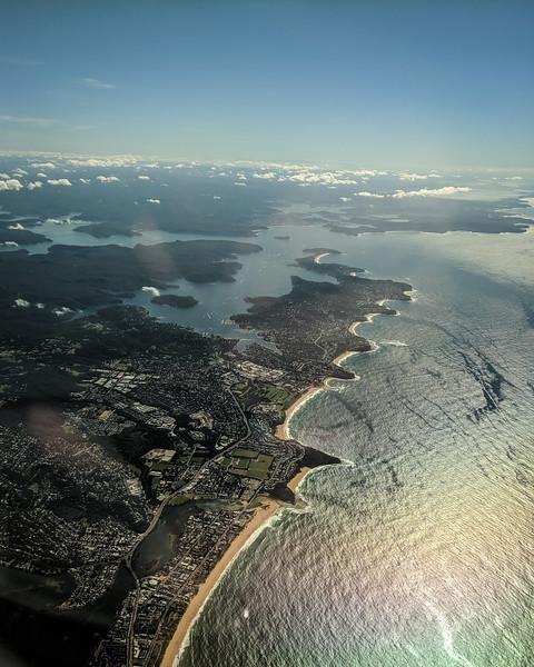 Last shot of Sydney