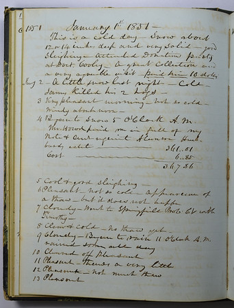 Volume 1: 1851