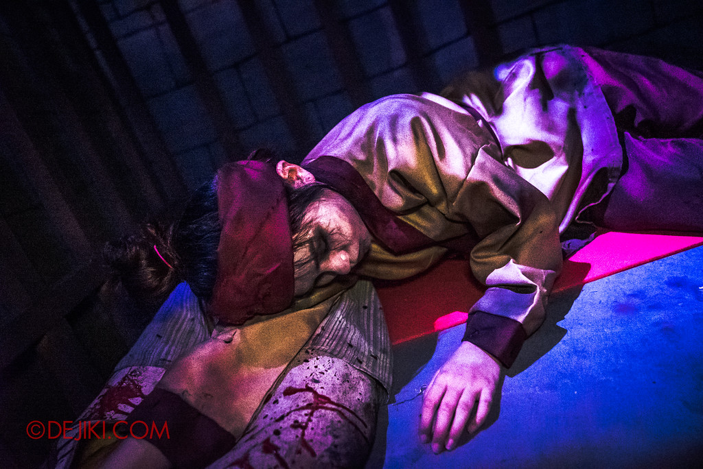 USS HHN8 Pagoda of Peril haunted house – Slain slave