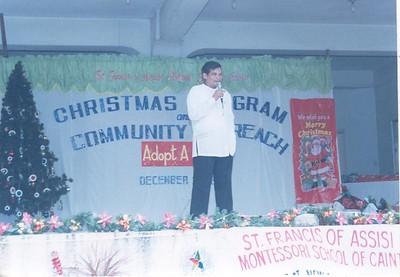 Christmas Outreach Program SY 1999-2000
