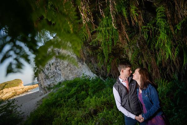 Erin and Evan Engagement @ Fern Grotto Beach, Santa Cruz