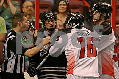 3/17/2012 - Edmonton Rush vs. Philadelphia Wings - Wells Fargo Center, Philadelphia, PA