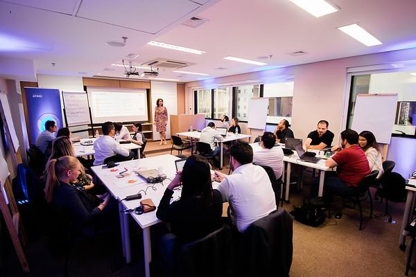 KPMG - Treinamento na sede - Mariselma Gonzalez