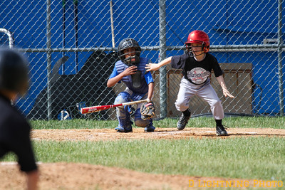 6/08 Midgets Blue Jays vs Giants