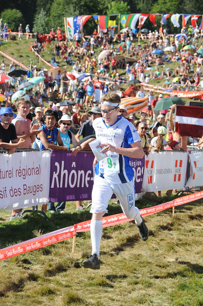 WOC 2011, relay