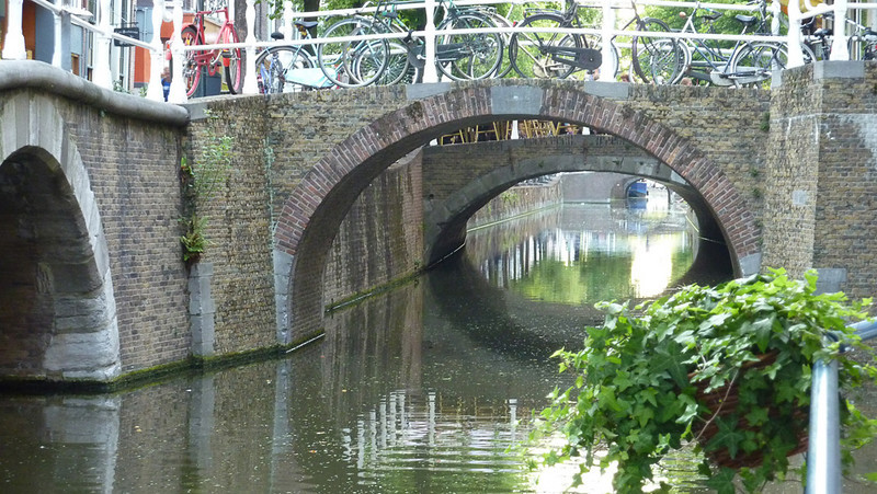 The canals in Delft