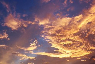 Nebe nad Olomoucí