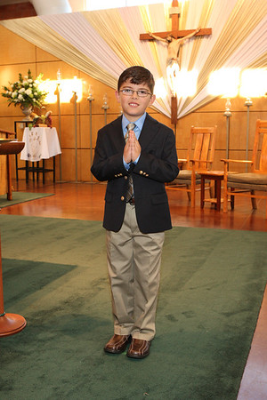 1st Communion, May 14, 2011