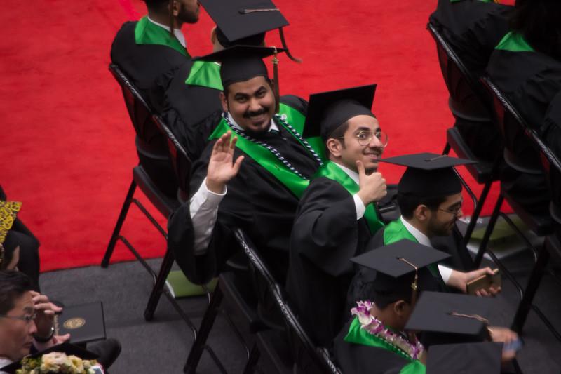 Saad Alhadi PSU grad photos