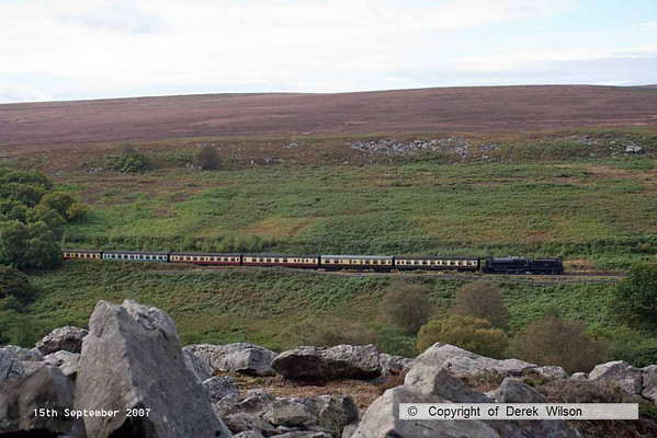 2007, 15th September, North York Moors Railway