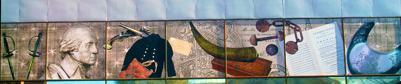 Visitor Center art