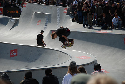 Skate Quiksilver bowl 08