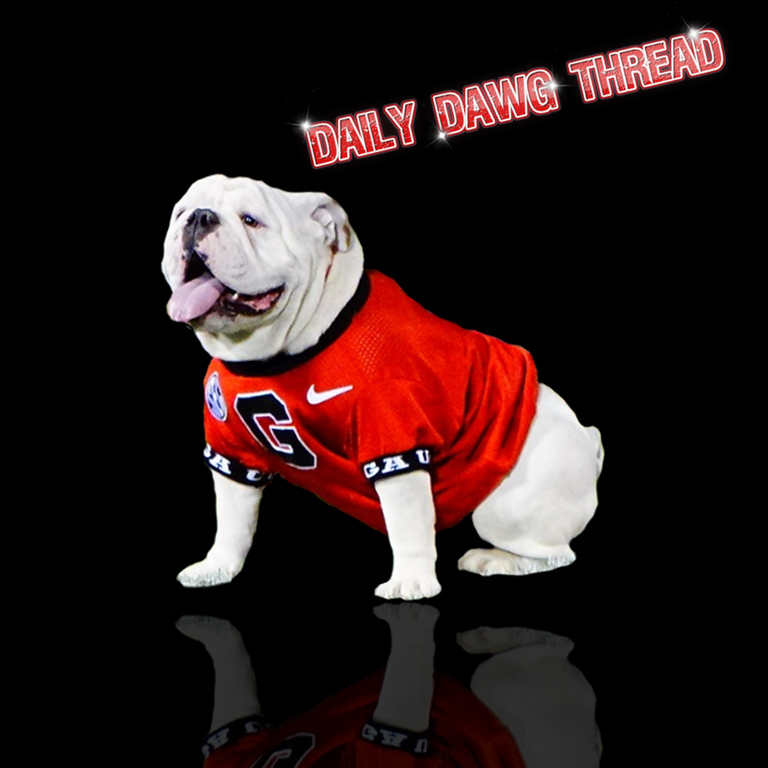 Daily Dawg Thread graphic edit by Bob Miller featuring Uga X
