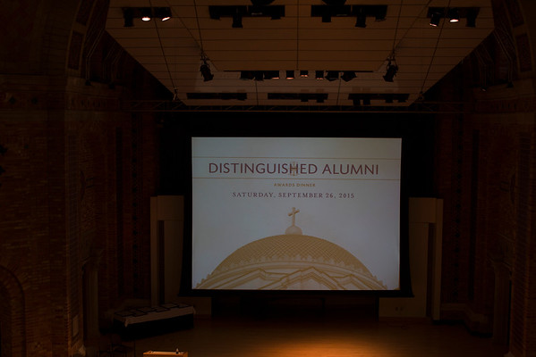 Distinguished Alumni 2015